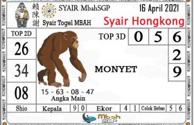 Syair HK Mbah Sukro 16 April 2021