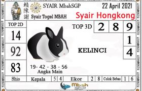Syair HK Mbah Sukro 22 April 2021